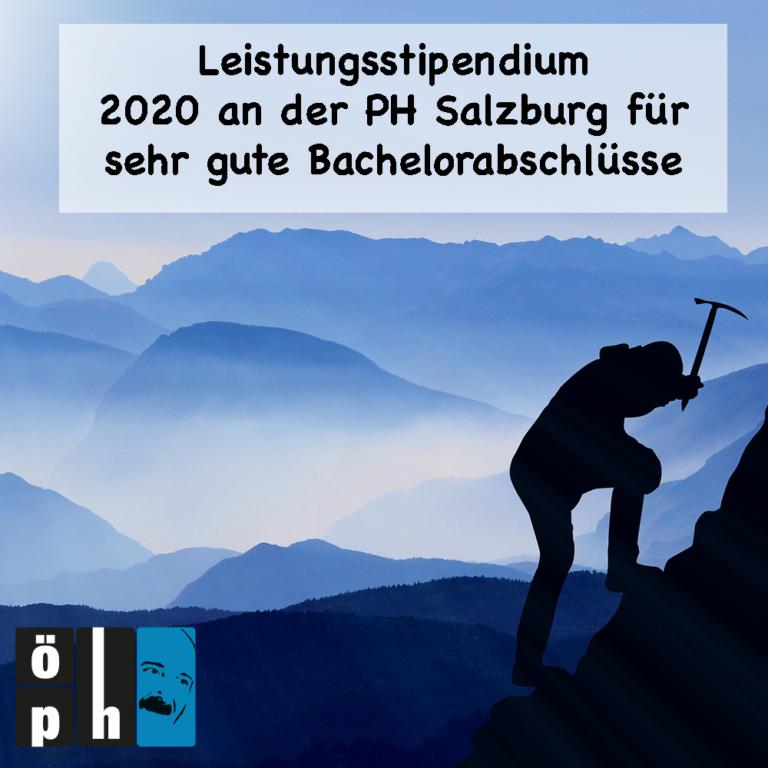 Leistungsstipendium 2020 an der PH Salzburg